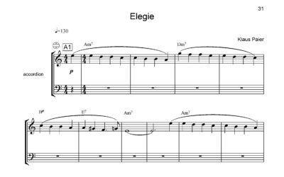 Solo-Akkordeon mit Klaus Paier (Teil III)