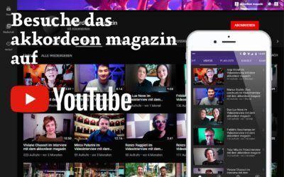 YouTube-Kanal für Akkordeonmusik
