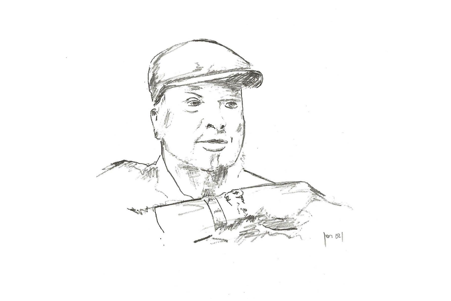 Zeichnung von Peter M. Haas