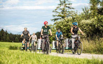 Konzert-Radtour mit Delago, Eberl und Co.