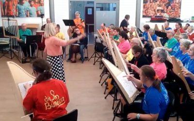"""Das Inklusionsorchester """"Die Bunten"""" geht Online"""