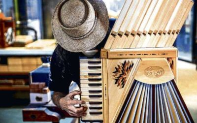 Renato Borghetti baut da Vincis Akkordeon